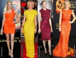 Which Was Your Favourite Elizabeth Banks 'The Hunger Games' Promotional Tour Look?