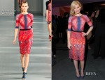 Elizabeth Banks In Peter Pilotto - 'The Five Year Engagement' Premiere Party