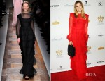 Elizabeth Olsen In Valentino - 2012 Grand Chefs Dinner