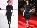 Emily Blunt In Carolina Herrera - 'Salmon Fishing In The Yemen' London Premiere
