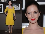 Emily Blunt In Elie Saab - Elie Saab Private Dinner Party