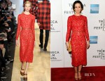 Emily Blunt In Michael Kors - 'Your Sister's Sister' Tribeca Film Festival Premiere