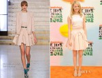 Emma Stone In Antonio Berardi - 2012 Nickelodeon Kids' Choice Awards