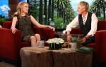 Emma Stone In J.Mendel - The Ellen DeGeneres Show
