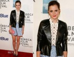 Emma Watson In Miu Miu – 'Struck By Lightning' Tribeca Film Festival Premiere