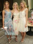 Erin Heatherton, Lindsay Ellingson and Toni Garrn In Philosophy di Alberta Ferretti - Victoria's Secret 'Love Is Heavenly' Fragrance Launch