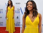 Gabrielle Union In Bill Blass - 'Think Like a Man' Atlanta Premiere