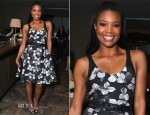 Gabrielle Union In Jason Wu -  'InStyle's Dinner With A Designer' Celebrating Jason Wu