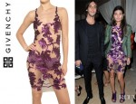 Giovanna Battaglia's Givenchy Embroidered Tulle Dress