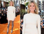 Heidi Klum In Roland Mouret - 2012 Nickelodeon Kids' Choice Awards