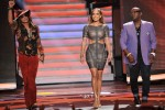 Jennifer Lopez In Hervé Léger by Max Azria - 'American Idol' Top 7 Live Performance Show