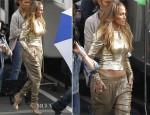 Jennifer Lopez In Temperley London & MICHAEL Michael Kors - American Idol Top 6 Live Performance Show