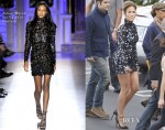 Jennifer Lopez In Zuhair Murad Couture -  American Idol  Top 6 To 5 Elimination Show