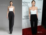 Jennifer Morrison In Donna Karan - 'Knife Fight' Tribeca Film Festival Premiere
