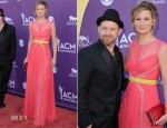 Jennifer Nettles In Max Azria - 2012 Academy of Country Music Awards