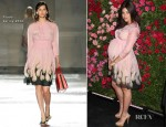 Julia Restoin-Roitfeld In Prada - 7th Annual Chanel Tribeca Film Festival Artists Dinner