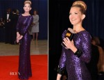 Kate Hudson In Jenny Packham - 2012 White House Correspondents' Association Dinner