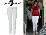 Katie Holmes' 7 for all Mankind Super Skinny Gwenevere Jeans