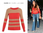 Khole Kardashian's Marc by Marc Jacobs Chinati Stripe Sweater