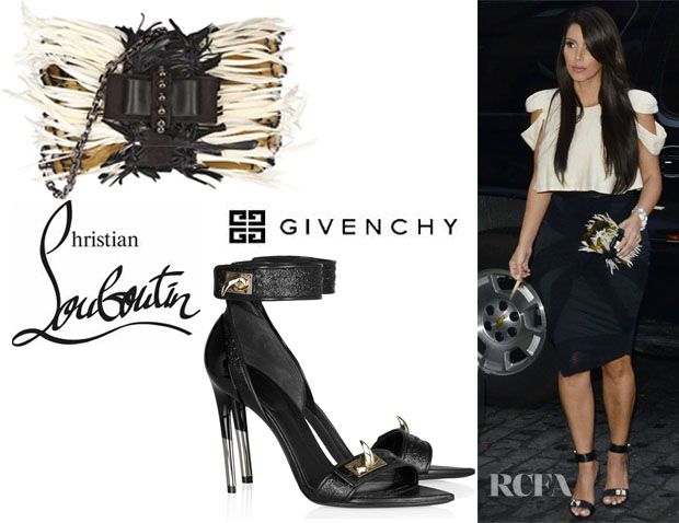 Kim Kardashian Givenchy And Christian Louboutin