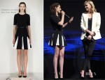 Kristen Stewart In Cushnie et Ochs - CinemaCon 2012