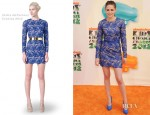 Kristen Stewart In Stella McCartney - 2012 Nickelodeon Kids' Choice Awards