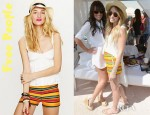 Lauren Conrad's Free People High Waisted Baja Stripe Shorts