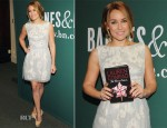 Lauren Conrad In Lela Rose - 'The Fame Game' Barnes & Noble Book Signing