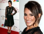 Lea Michele In Oscar de la Renta - The Jonsson Cancer Center Foundation's 17th Annual Taste For A Cure Gala