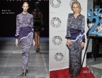 Leelee Sobieski In Maki Oh - 'NYC 22' New York Premiere