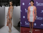 Martina McBride In Georges Chakra - 2012 Academy Of Country Music Awards