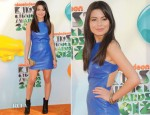 Miranda Cosgrove In Porter Grey - 2012 Nickelodeon Kids' Choice Awards