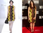 Nerea Garmendia In Marni - 'The Pelayos' Madrid Premiere
