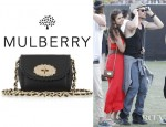Nina Dobrev's Mulberry Cookie Mini Leather Shoulder Bag