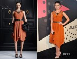 Olivia Munn In Jason Wu - The Geffen Contemporary at MOCA