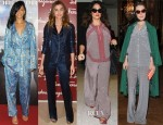 Celebrities Love The Pajama Trend