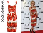 Pixie Geldolf's Dolce & Gabbana Chilli Print Dress