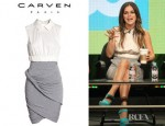 Rachel Bilson's Carven Bandage Jersey Dress