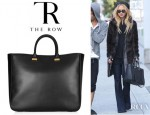 Rachel Zoe's The Row XL Day Luxe Leather Tote