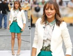 Rashida Jones In J Brand, Ann Taylor & H&M - 'Today' Show