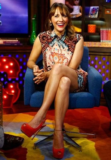 Rashida Jones In Thakoon Watch What Happens Live Red Carpet Fashion Awards