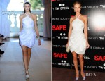 Rosie Huntington-Whiteley In Andrew Gn - 'Safe' New York Premiere