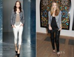 Rosie Huntington-Whiteley In Theyskens' Theory - Damien Hirst Exhibition Private Viewing
