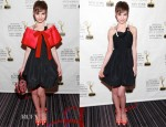 Sami Gayle In Miu Miu - 55th Annual New York Emmy Awards Gala