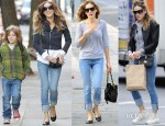 Sarah Jessica Parker Loves Her Current/Elliott 'The Beatnik' Jeans