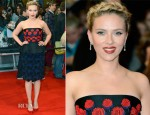 Scarlett Johansson In Prada - 'The Avengers' London Premiere