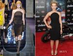 Scarlett Johansson In Versace - 'The Avengers' LA Premiere