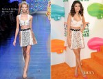 Selena Gomez In Dolce & Gabbana - 2012 Nickelodeon Kids' Choice Awards