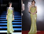 Shu Qi In Armani Privé - 31st Hong Kong Film Awards