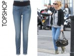 Sienna Miller's Topshop Maternity Moto Leigh Jeans